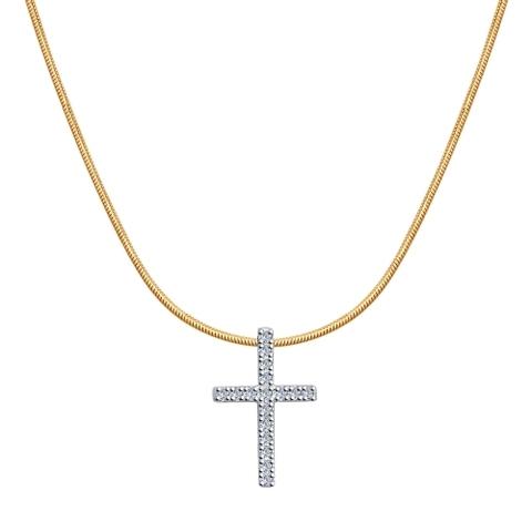 1070009 - Колье из золота с бриллиантами