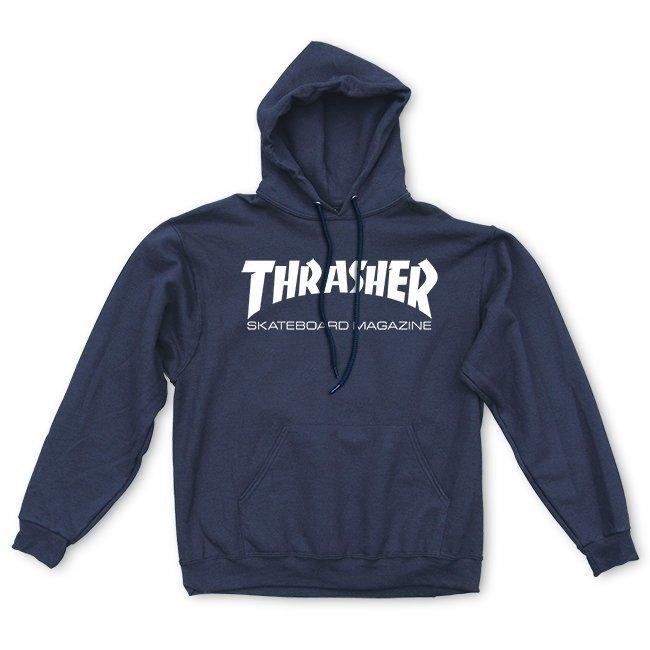 Толстовка THRASHER Skate Mag Hood Navy