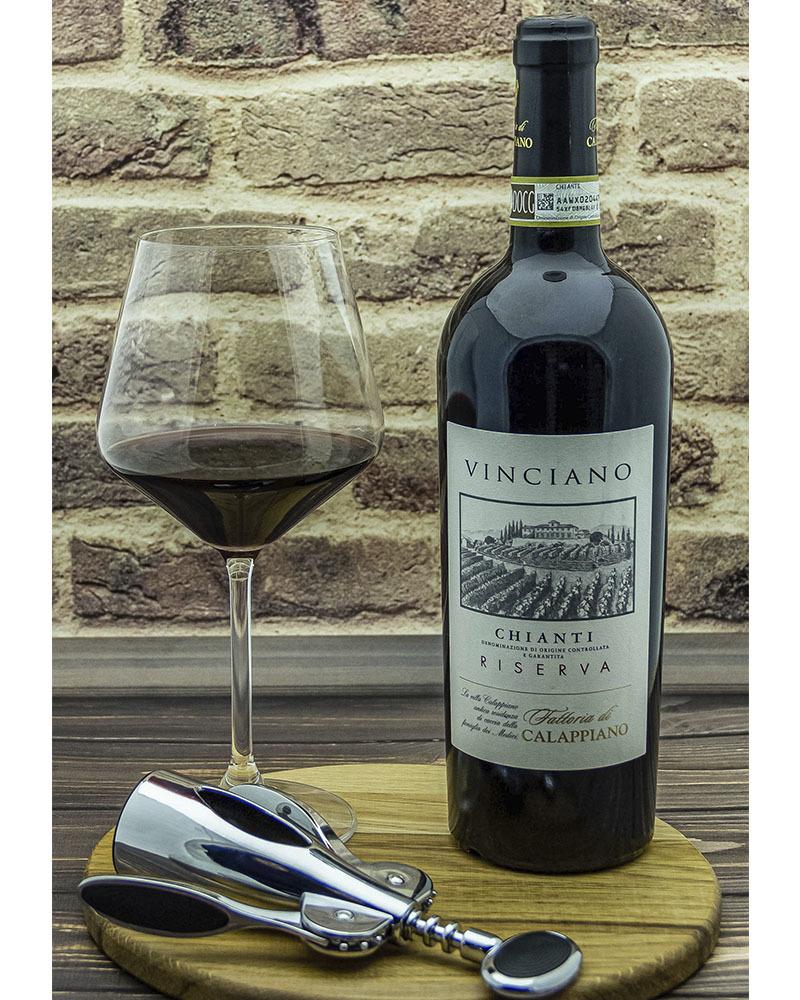 Вино Fattoria di Calappiano Кьянти Ризерва Виничиано Красное Сухое 2015 г.у. 13,5% 0,75 л.
