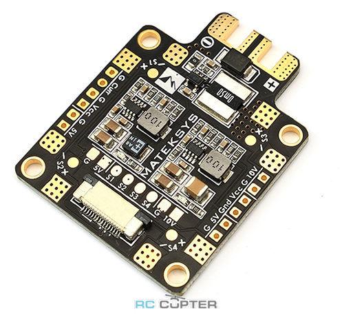 Плата распределения питания Matek 184A 5V/10V FCHUB-6S с датчиком тока
