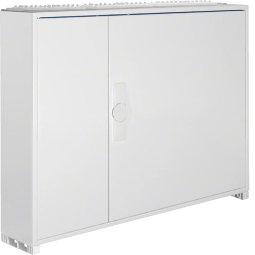 Щиток открытой установки,секционный,с оснасткой,IP44,650x800x161мм (ВхШхГ),две двери,RAL9010