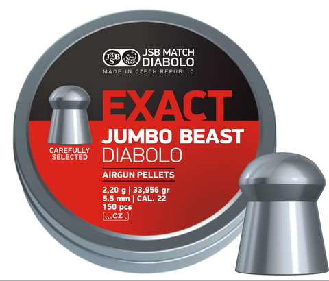 JSB Exact Jumbo Beast 5,52/2,2