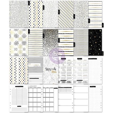 Внутреннее наполнение для ежедневников А5- My Prima A5 Planner Inserts - Golden Plan