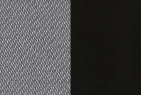 Ткань/Массив: Тетра Серый/Черная эмаль