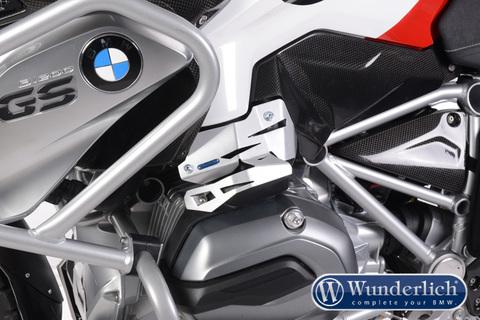 Защита инжектора BMW R1200GS LC/R LC левая серебро