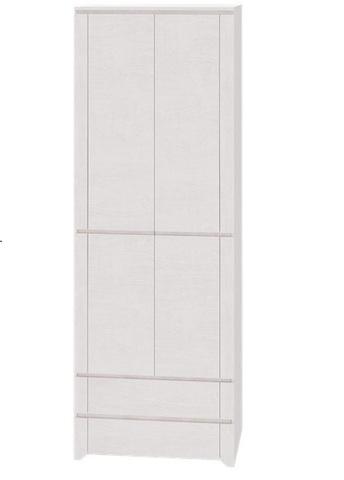 Шкаф для одежды двухдверный Твист 1 Ижмебель молокай