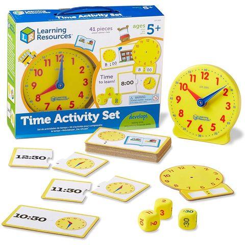 LER3220 Игровой набор Учимся определять время (41 элемент) Learning Resources