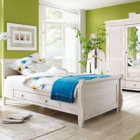Детская спальня Мальта и Хельсинки (белый воск)