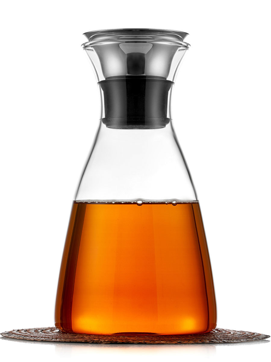 Кувшины, графины (для горячих и холодных напитков) Кувшин-графин для воды, коктейлей, чая и других напитков, 1000 мл Solo Glaffe Kuvshin-SOLO-teastar.jpg