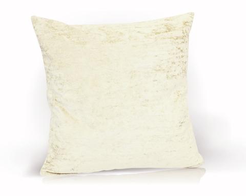 Подушка декоративная Бархат молочный
