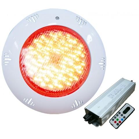 Подводный накладной светильник TLQP-LED12, LED RGB, ABS-пластик, 12Вт POOLKING