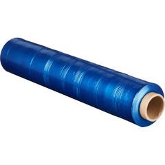 Стрейч-пленка для ручной упаковки вес 2 кг 23 мкм x 190 м x 50 см синяя (престрейч 180%)