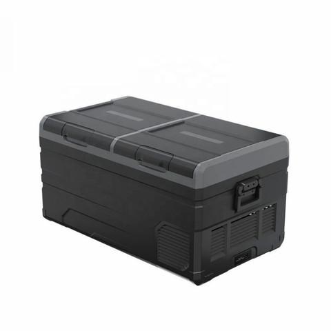 Компрессорный автохолодильник Alpicool TW75 (Двухкамерный, 12V/24V/220V, 75л)