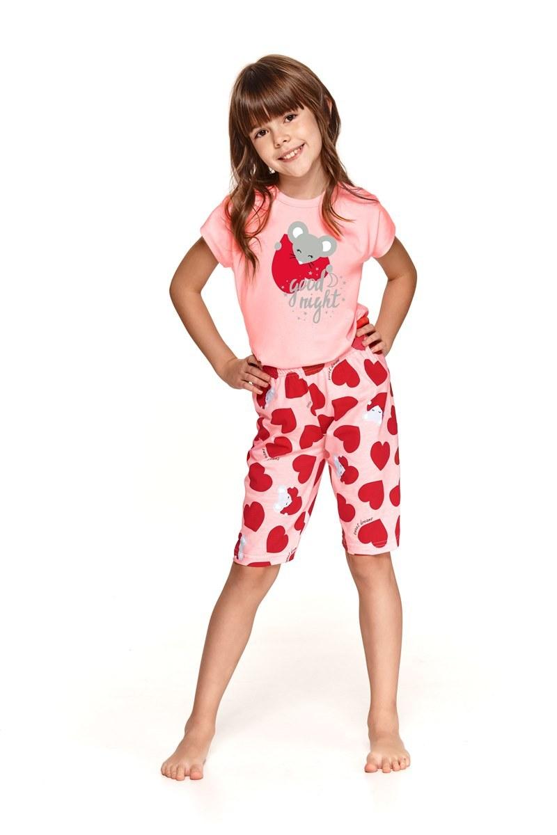 Пижама для девочек с шортами TARO 2202/2203 SS21 AMELIA