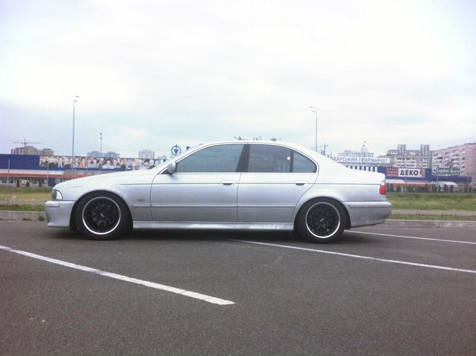 BMW E39 на койловерах JOM 741025 Blueline