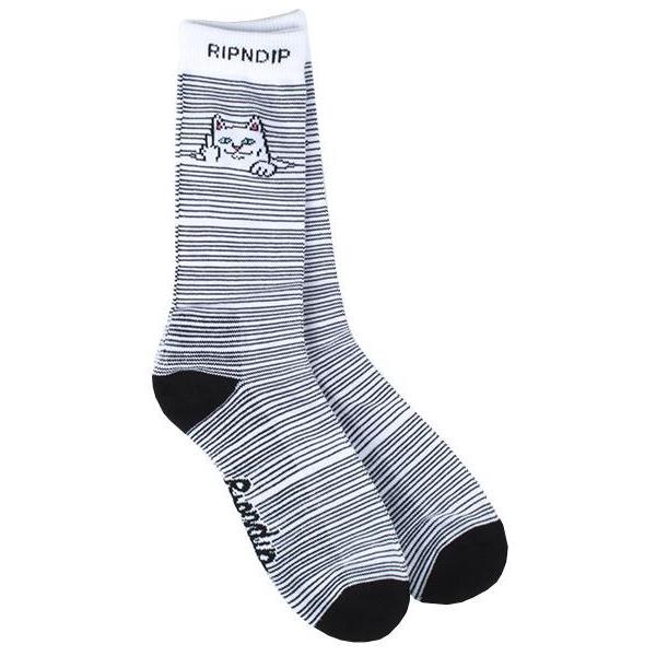 Носки RIPNDIP Peek A Nermal Socks (White)
