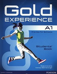 Gold Experience A1 Students' Book with DVD