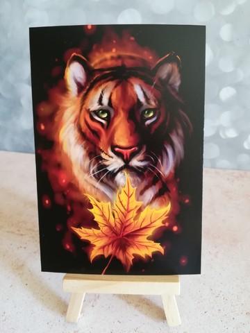 Осенний тигр