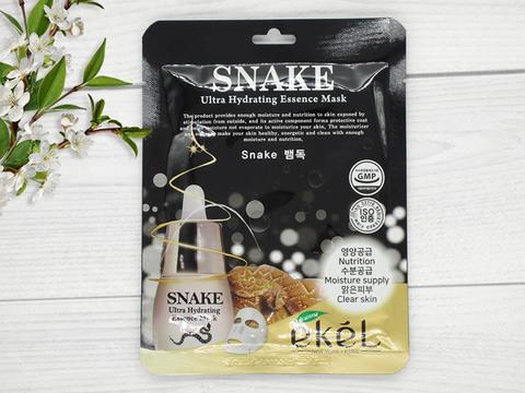 274635 EKEL Тканевая маска для лица с пептидом змеиного яда Snake