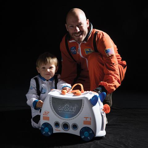 Чемодан на колесиках Trunki Sky The SpaceShip