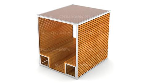 Скамейка с навесом SCAM0103
