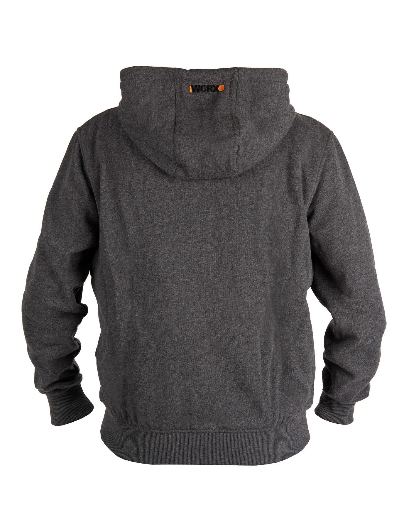 Куртка с подогревом Worx WA4660 L темно-серая