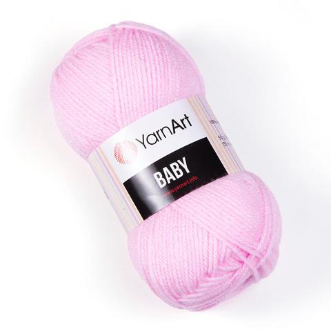 Пряжа Baby (Бэби) Розовый. Артикул: 649
