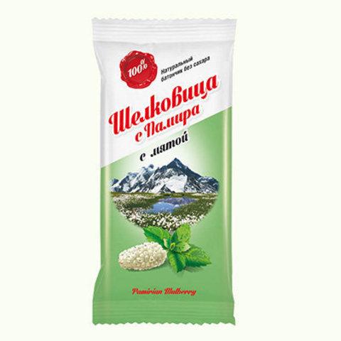 Батончики фруктовые, Дары Памира, Мята, 20 г, 44 шт