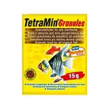 TetraMin Granules Основной корм для всех видов декоративных рыб (гранулы) 15 г. (134492)