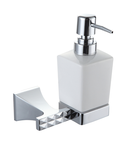 Дозатор жидкого мыла, серия GRANI (Хром) - Honeywell
