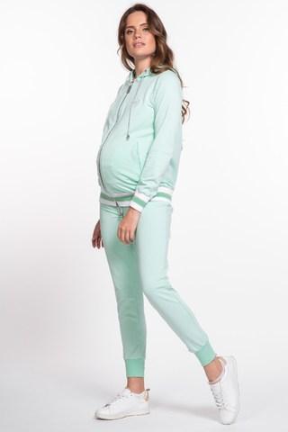 Спортивный костюм для беременных и кормящих 10043 мятный