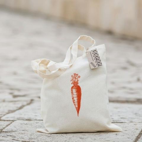 Экосумка с карманом Big-bag Морковь
