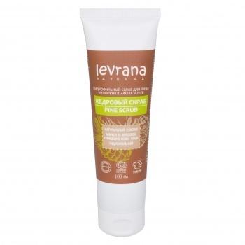 Кедровый скраб для лица (гидрофильный) Levrana