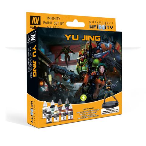Набор красок Vallejo: Yu Jing с эксклюзивной миниатюрой