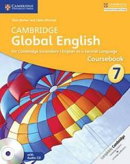 Cambridge Global English Stage 7,  Mixed Media, Barker/Mitchell