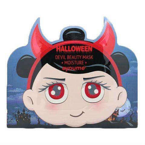 Маска увлажняющая с гиалуроновой кислотой AYOUME Halloween Devil Beauty Mask Moisture