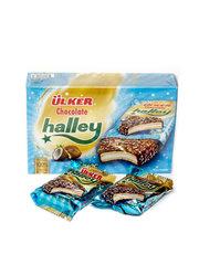 """Печенье """"Halley"""" сэндвич в молочном шоколаде с маршмэллоу кокос 8 шт 240г"""