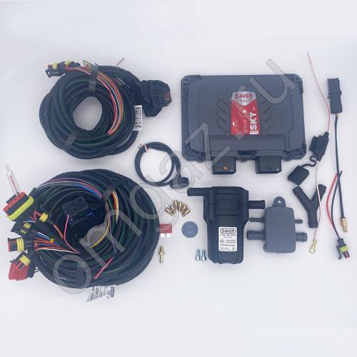 Электр. часть SAVER 716 ULTRA с проводкой и сенс 6 цил