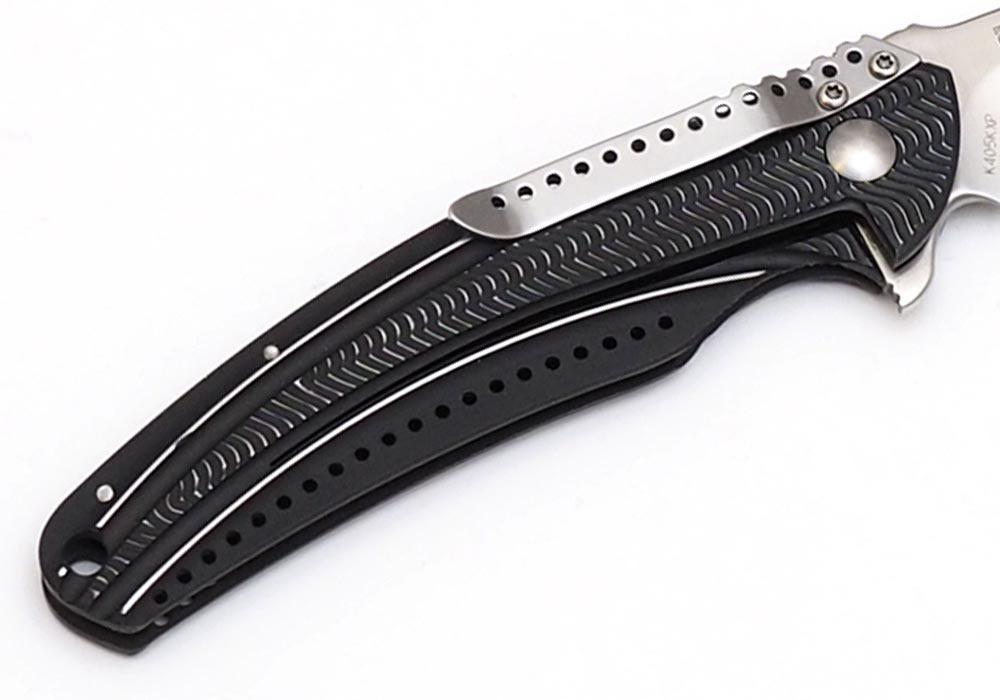 Нож CRKT Ripple Charcoal K405KХP - фотография