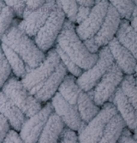 Пряжа Puffy (Alize) 87 Угольно-серый - фото