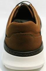 Летние кроссовки для мужчин Vitto Men Shoes 1830 Brown White