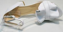 Летние женские босоножки натуральная кожа Ari Andano K-0100 White.