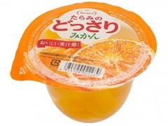 Желе фруктовое Tarami с кусочками фруктов Мандарин и Апельсин 230 гр.