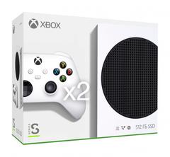 Игровая консоль Xbox Series S All Digital 512 ГБ (RRS-00011) + второй геймпад