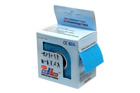 BBtape кинезио тейп 5см х 5м Н2О (голубой)1