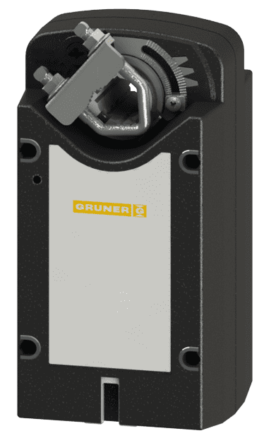 Gruner 341C-024D-03-S2 электропривод с моментом вращения 3 Нм