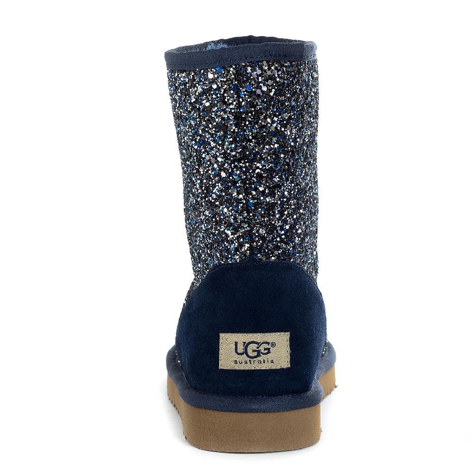 Женские угги UGG Classic Short Stardust Blue