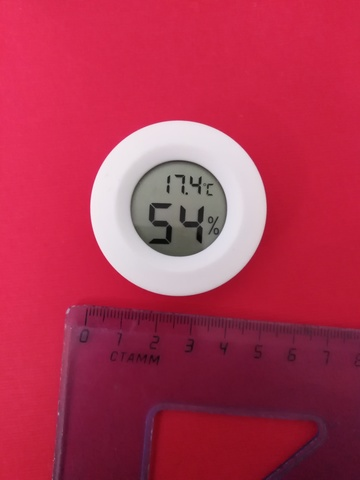 Термометр-гигрометр для инкубатора