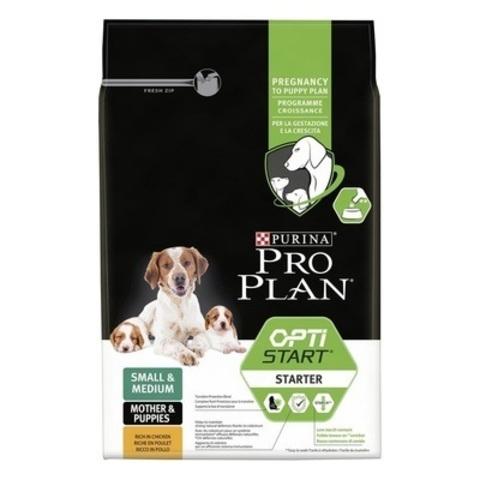 Pro Plan Starter сухой корм для щенков и беременных собак средних и мелких пород с курицей