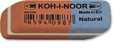 Ластик для графита и чернил сине-красный 6521/80, 41х14х8мм